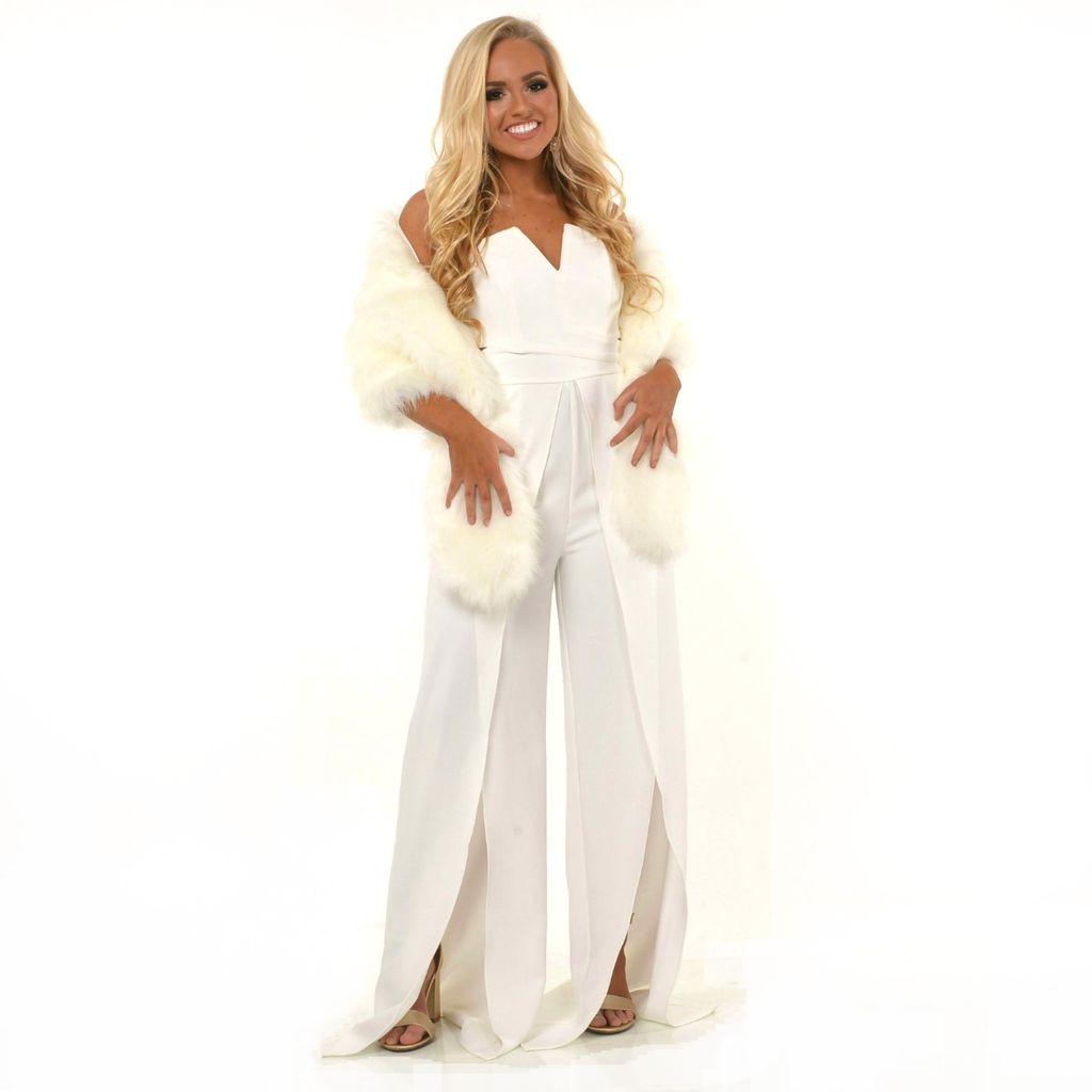 Formalwear Winter Wonderland Fur Stole