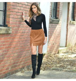 Skirts 62 Festive Tan Suede Skirt