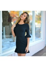 Dresses 22 Home For the Holiday Ruffle LBD