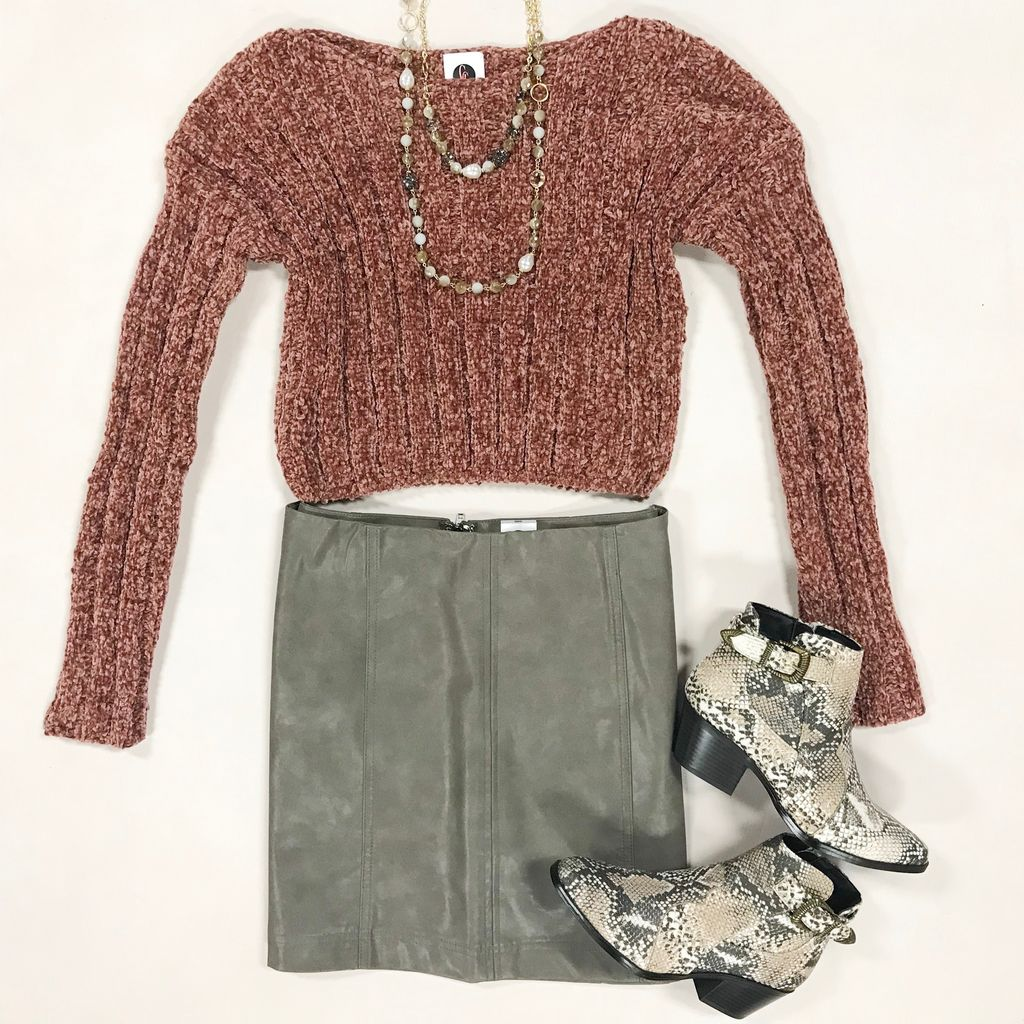 Tops 66 My Love Winter Chenille Sweater