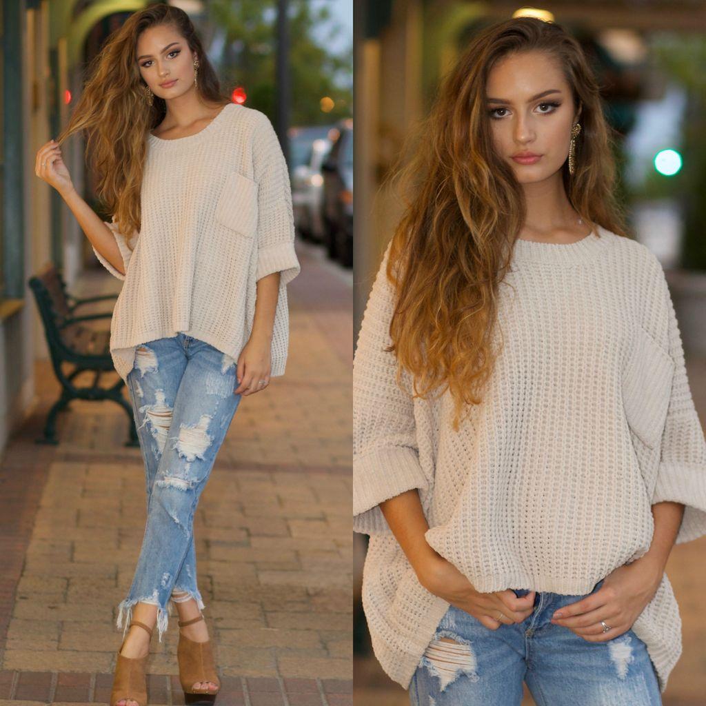 Tops 66 Winter Chenille Sweater