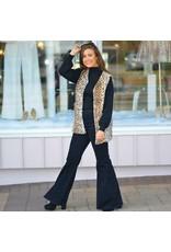 Outerwear Leopard Vest