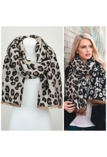 Accessories 10 Reversible Winter Leopard Scarf