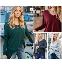 Tops 66 Simple And Basic V Neck Sweater