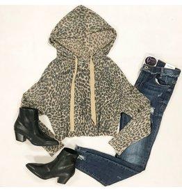 Tops 66 Leopard Lover Winter Hoodie
