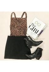 Skirts 62 So Suede Black Winter Skirt