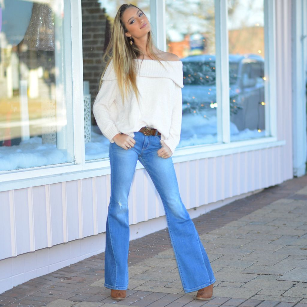 Pants 46 Stop and Flare Denim
