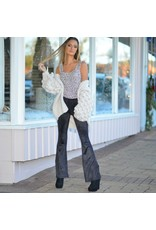 Pants 46 Beautiful Daze Suede Flares