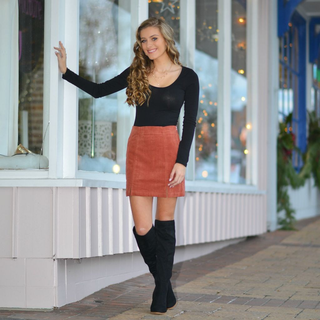 Skirts 62 Spice It Up Corduroy Skirt