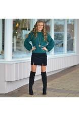 Skirts 62 Black Suede Skirt