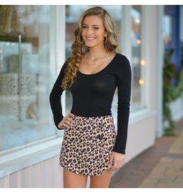Shorts 58 Wild About You Leopard Skort