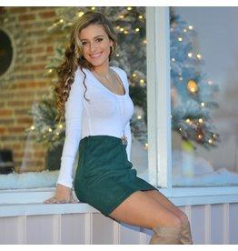 Skirts 62 Denim Daze Forest Green Skirt