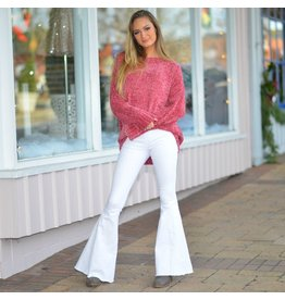 Tops 66 Cinnamon Chenille Pullover Sweater