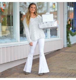 Pants 46 Winter White Flares