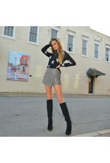 Skirts 62 Leather Celebration Grey Skirt