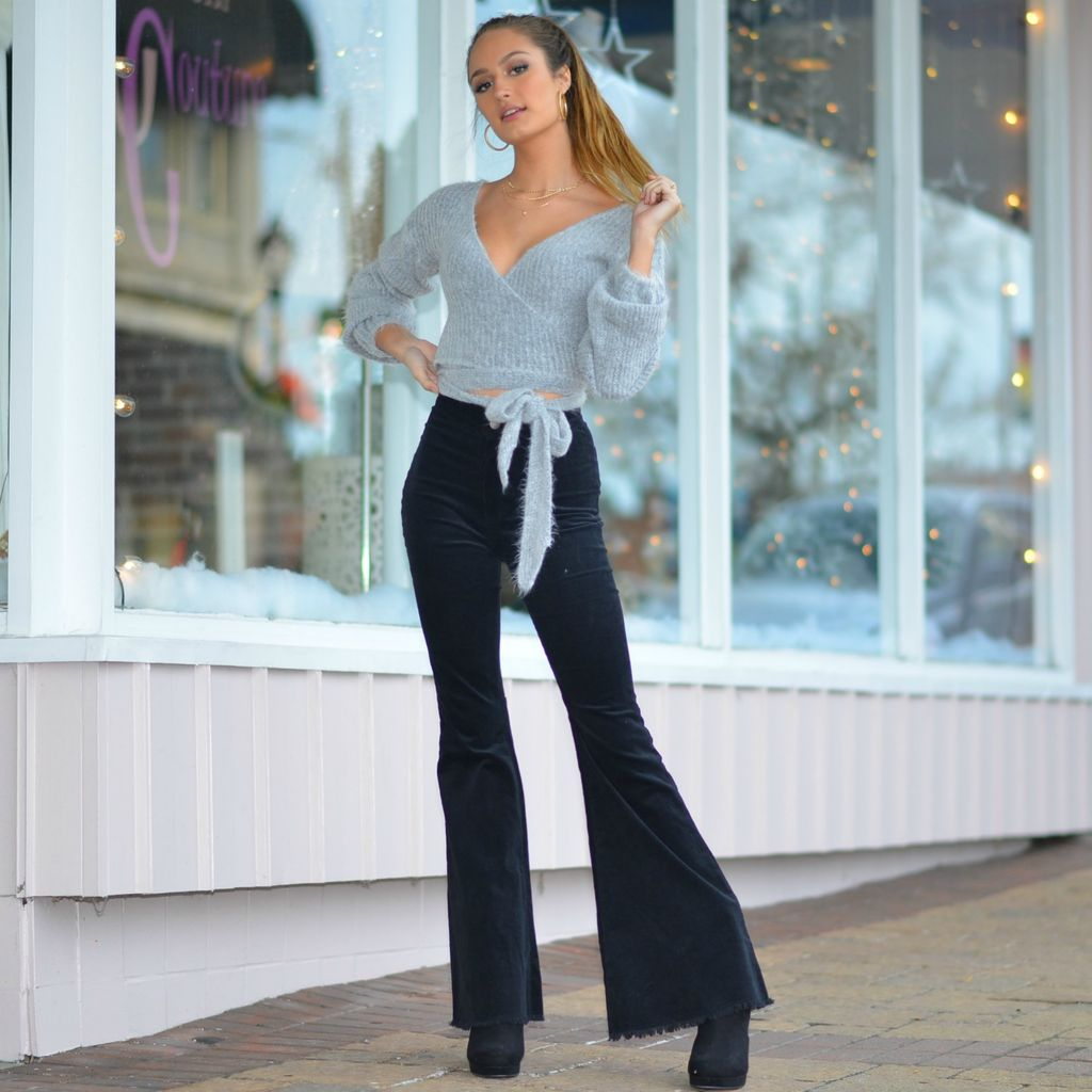 Pants 46 Dare To Flare Black Corduroy Flares