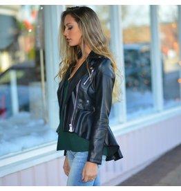 Outerwear No Turning Back Black Bomber