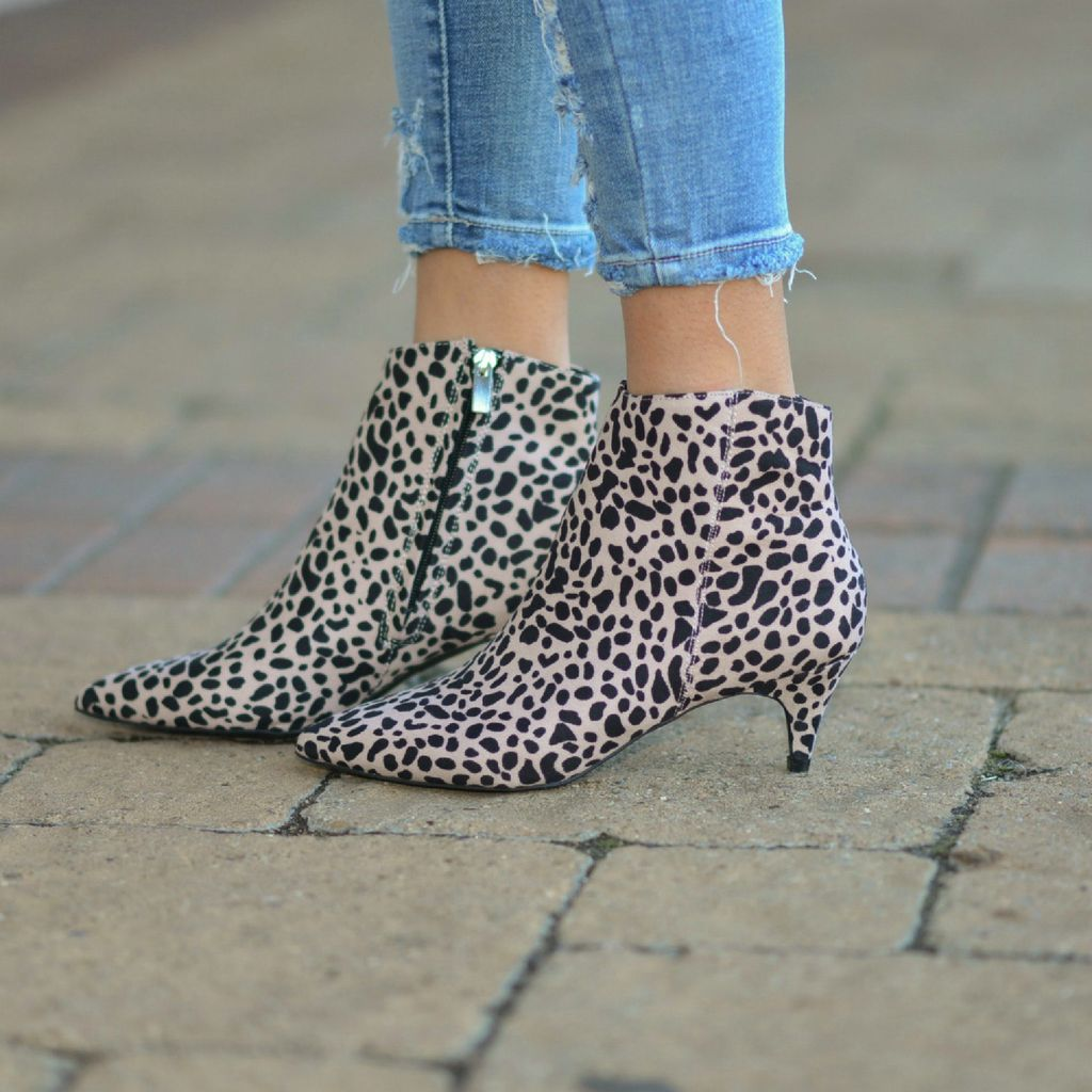 Shoes 54 Get Right To The Point Leopard Boots