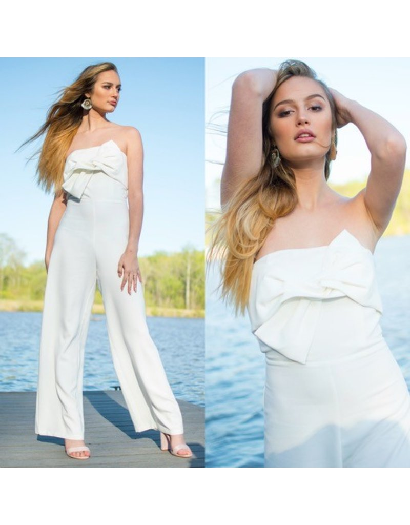 Jumpsuit White Celebration Jumpsuit