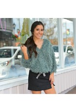 Tops 66 Fairy Dust Feather Sweater