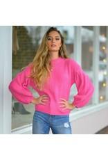 Tops 66 Sugar Plum Balloon Sleeve Holiday Sweater