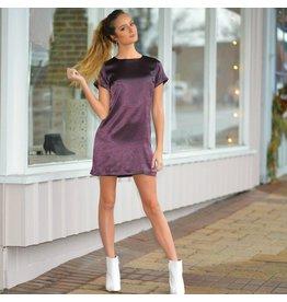 Dresses 22 Holiday Glam Sugar Plum Satin Dress