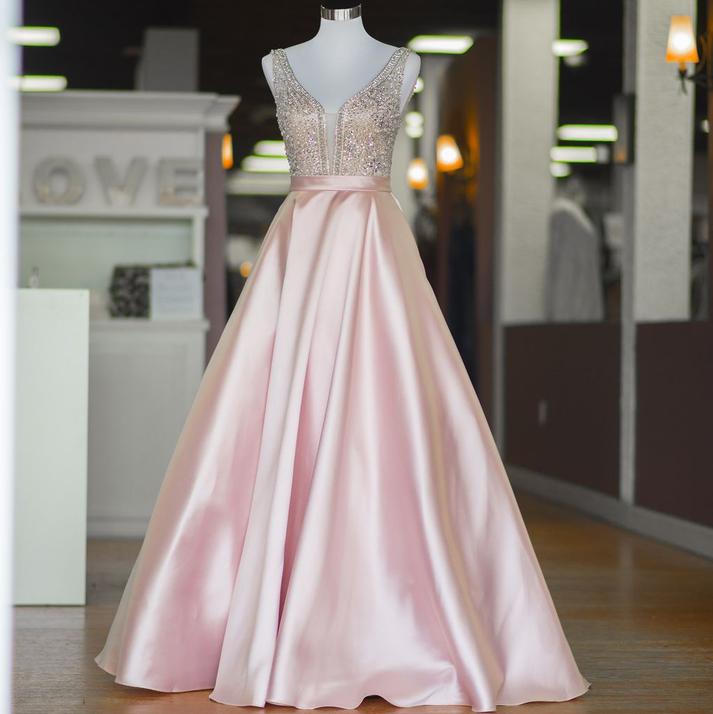 Enchanted Evening Light Pink Formal Dress