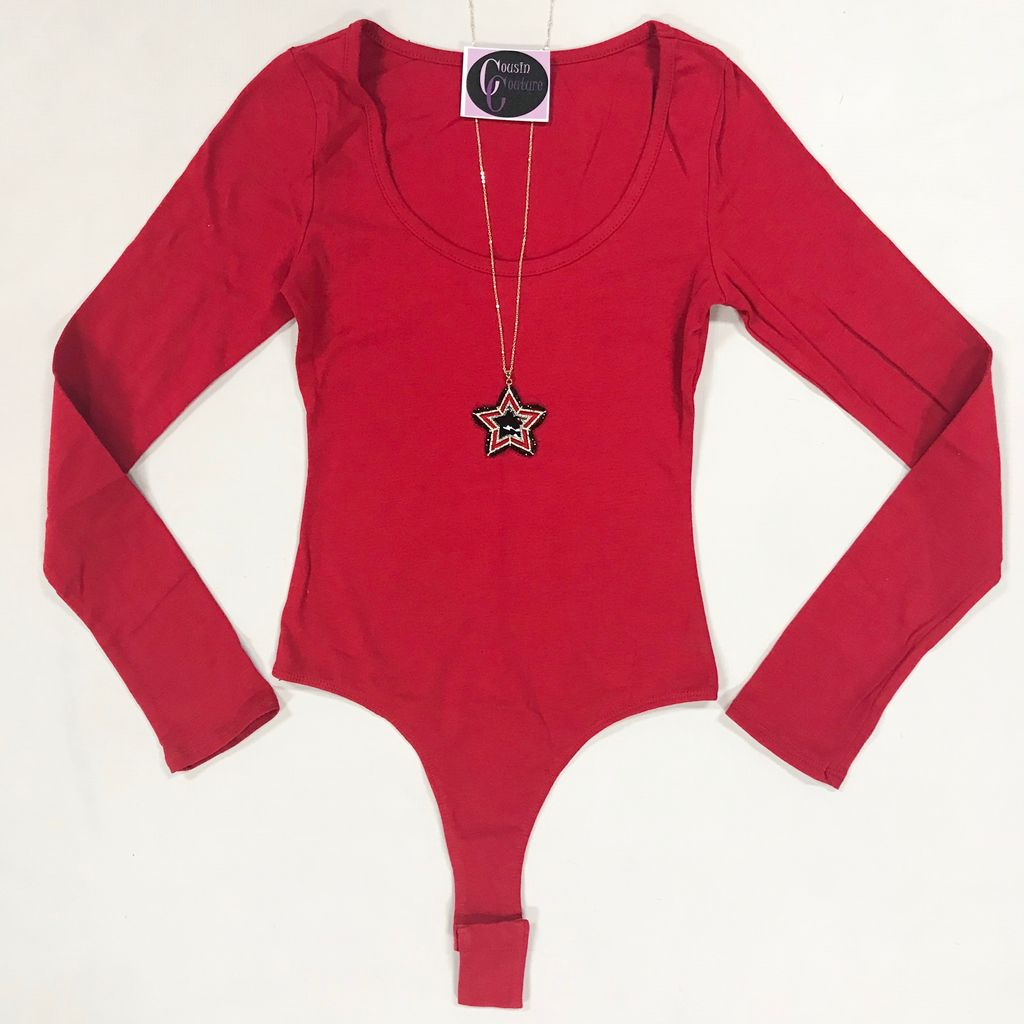 Tops 66 Simple And Basic Bodysuit