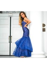 Formalwear One Wish Navy Formal Dress