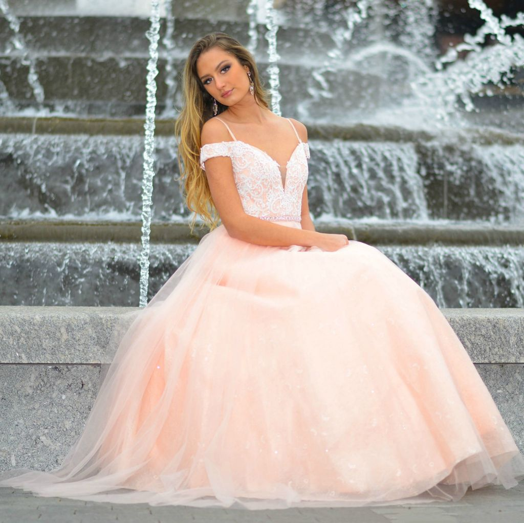 Formalwear My Enchanted Moment Blush Formal Dress