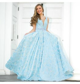 Formalwear Head Turner Periwinkle Formal Dress