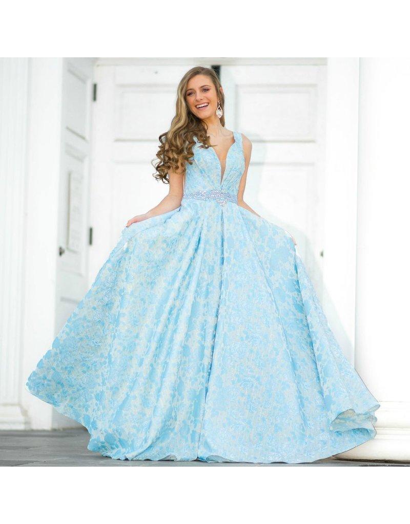 Formalwear Head Turner Periwinkle Formal Dress