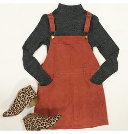 Dresses 22 Hello Fall Corduroy Overall Dress