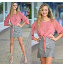 3bd502e2e5f Skirts 62 Love Of Leather Grey Skirt