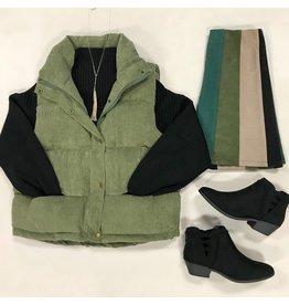 Outerwear Meet Me Under The Misteltoe Corduroy Vest
