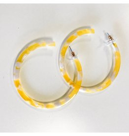 Jewelry 34 Acrylic Open Hoops