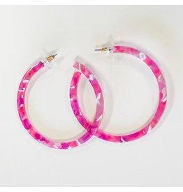Jewelry 34 Acrylic Open Hoops