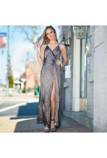 Formalwear Diamond Glitter Formal Dress