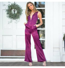 Jumpsuit Mulberry Dream Satin Jumpsuit
