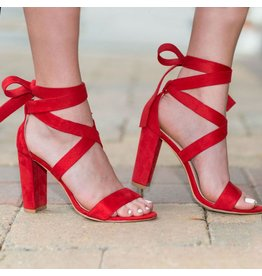 Shoes 54 Wrap It Up Red Heel