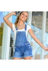 Shorts 58 Gotta Move Medium Denim Overalls