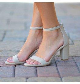 Shoes 54 Beige Block Heel