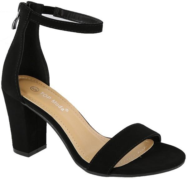 Shoes 54 Black Block Heel
