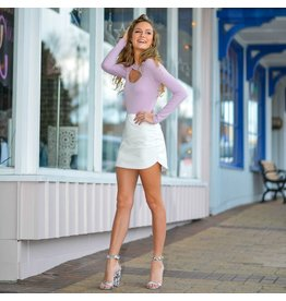 Skirts 62 Leather White Skirt