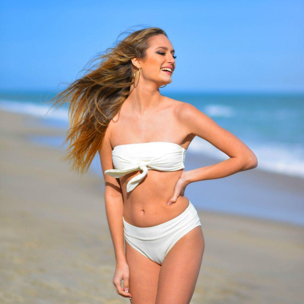 Swimsuits Desert White Bikini Bottom