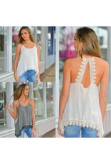 Tops 66 Dance Freely Lace Cami Top