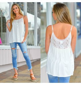 Tops 66 Lainey Lace Trim Top