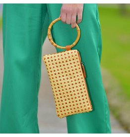 Accessories 10 Natural Bamboo Handle Clutch