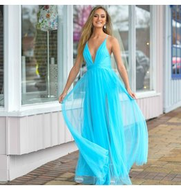 Dresses 22 Tulle Occasion Blue Dress