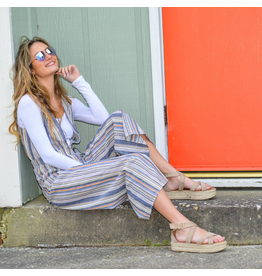 Jumpsuit Weekend Getaway Stripe Jumpsuit